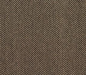 Herringbone 21312 Carpet In Natural On Black Langhorne