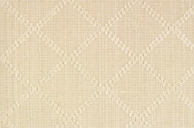Stria Diamond 21605 Carpet In Beige And White
