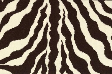 Image of the zebra cut pile #21786 carpet in brown / white
