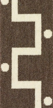 Tatina 2238 Carpet In Brown And White From The