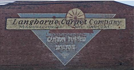 Langhorne Carpet Company Exterior Sign
