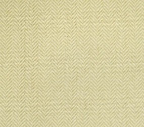 Herringbone 21312 Carpet In Green On White