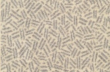 Image of Scatter #2317 Carpet in Gray on Ecru