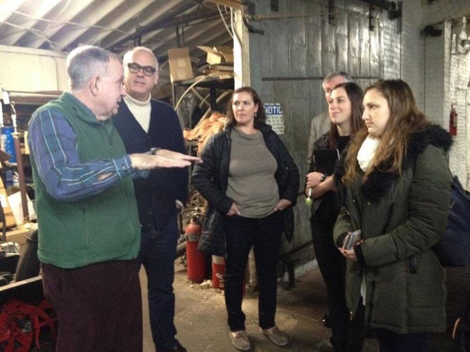 Gacek Design Group Visits Langhorne Carpet Company