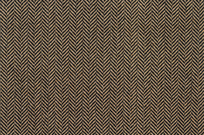 Image of Herringbone #21312 Carpet in Natural on Black