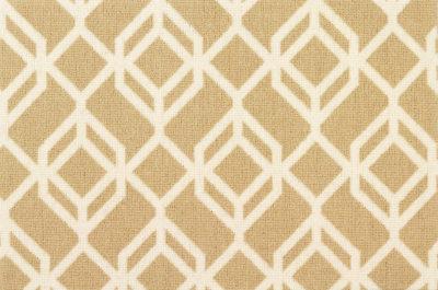 Image of Facet #21934 Carpet in White on Beige
