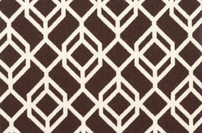 Image of Facet #21934 Carpet in White on Brown