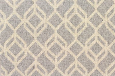 Image of Facet #21959 Carpet in Gray on Ecru