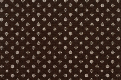 Image of Nova #2377 Carpet in White on Brown