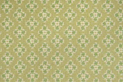 Image of Celtic Cross #31560 Carpet in White, Lime & Green