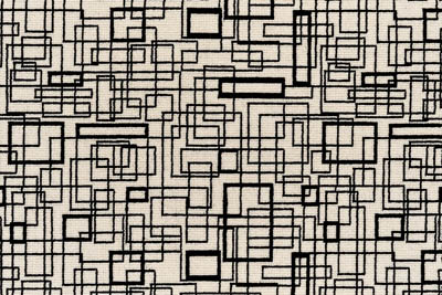 Image of Grid #22067 Carpet in Black on 739 White
