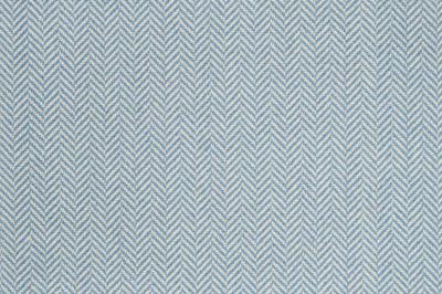 Image of Herringbone #21312 Carpet in Blue on White