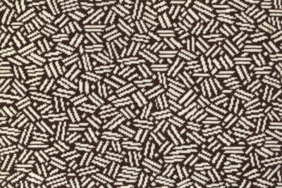 Image of Scatter #21984 Carpet in White on Brown
