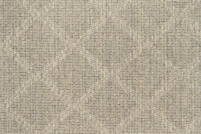 Image of Stria Diamond #21605 carpet in ecru and gray