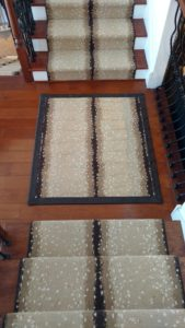 ANTELOPE STAIR AND LANDING INSTALLATION      DEALER - NORMAN CARPET