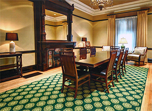 Link to information about Custom Carpets