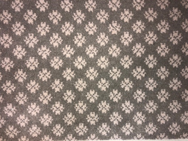 Image of Winter Dreams #22120 Carpet in 9206 Gray on 19078 Gray